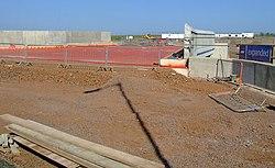 Groundworks at Gogar tram depot (geograph 2401780).jpg