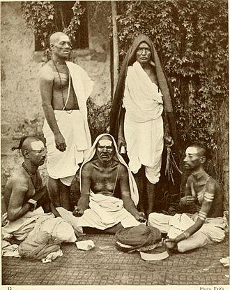 Brahmin - Image: Group of Brahmins 1913