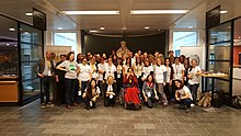 Group photo Wiki techstorm at Koninklijke Bibliotheek 26-27 okt 2018.jpg