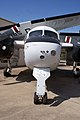 Grumman US-2B Tracker HeadOn CFM 7Oct2011 (15321996641).jpg