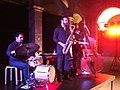 Grupo de Jazz en el Centro de Artes Santa Mónica (Barcelona, Noviembre 2014) 02.JPG