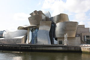 English: Guggenheim Museum, Bilbao, Biscay, Sp...