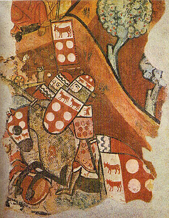 Battle of Portopí - Detail of Guillem II de Montcada i de Bearn