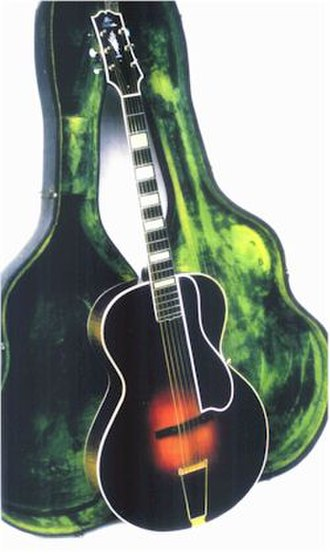 Eddie Lang - Gibson L5 owned by Lang