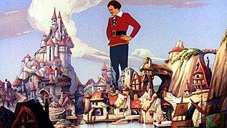 Fleischer Studios - Gulliver's Travels was Fleischer Studios' first feature-length animated production.