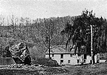 Gulph Mill which supplied grain to George Washington's army. Photograph c. 1922
