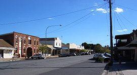 Gunning main street