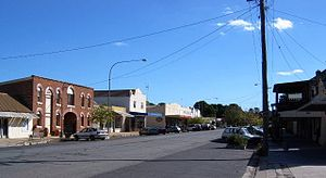 Gunning, New South Wales - Gunning's main street