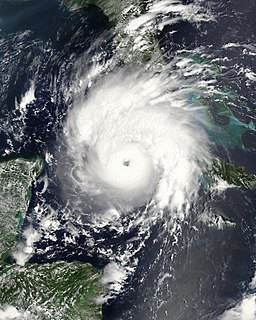 Hurricane Gustav Category 4 Atlantic hurricane in 2008