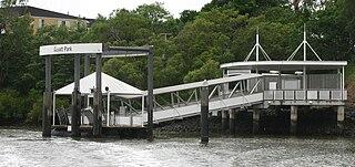 Guyatt Park ferry wharf