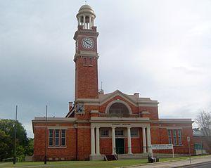 Gympie - Gympie Court House, 2012