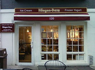 Häagen-Dazs - Image: Häagen Dazs' first shop