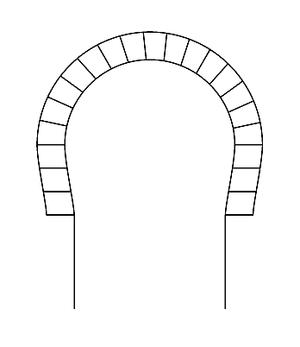 Horseshoe arch - Horseshoe arch