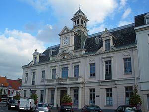 Lannoy, Nord - Image: Hôtel de ville de Lannoy