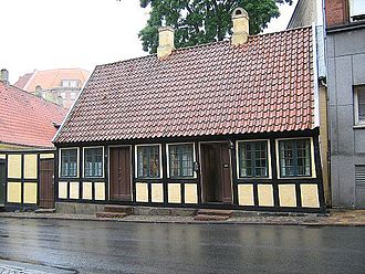 Hans Christian Andersen - Andersen's childhood home in Odense