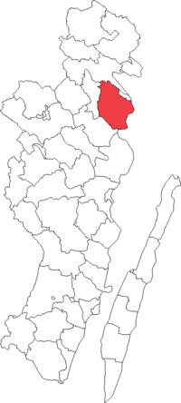 Gladhammars landskommune i Kalmar amt