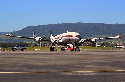 HARS Super Connie at Wollongong, 2004 - Lockheed Constellation