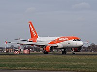 HB-JYN easyJet Switzerland Airbus A319-111 at Schiphol (AMS - EHAM), The Netherlands pic1.JPG