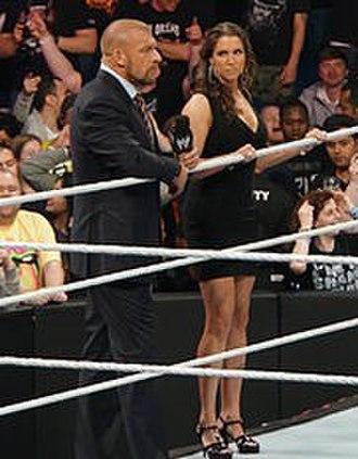 Survivor Series (2014) - Triple H and Stephanie McMahon created the Authority.