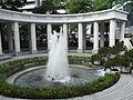 HK Park Fountain water pool n Colonnade Aug-2012.JPG