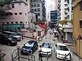 HK Sheung Wan 太平山街 Tai Ping Shan Street outdoor carpark n visitors view 百姓廟 Pak Shing Temple 磅巷 Pound Lane February 2019 SSG 01.jpg