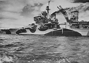 HMS Howe (32) - HMS Howe, 1943