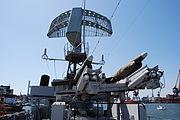 HMS Smaland, radar and missiles