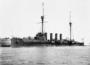 Warrior-class cruiser - Image: HMS Warrior (1905)