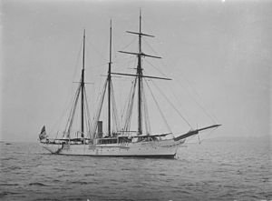 Hydrography - HMS Waterwitch, a hydrographic survey vessel
