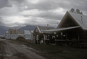 Hope, Alaska - Main Street