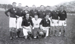 Helsingin Palloseura - HPS team that won Finnish championship in 1927.