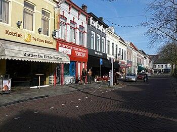 Nederlands: Haagdijk in Breda