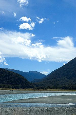Haast River - The Haast River
