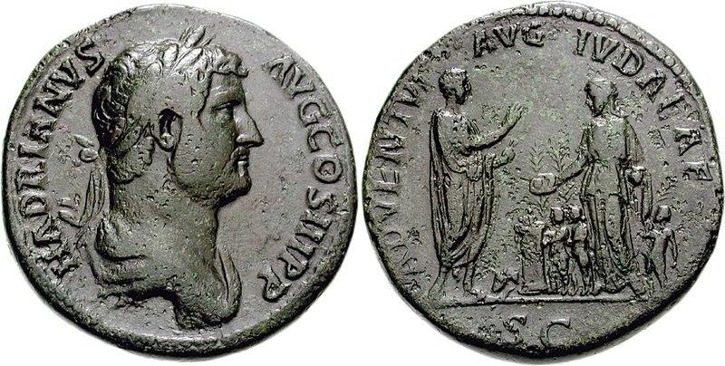 Hadrian visit to Judea