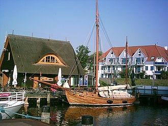 Zingst - The harbour of Zingst