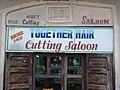 Hair Salon Sign with Colonial-Era Facade - Stone Town - Zanzibar - Tanzania (8830600858).jpg