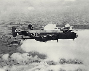No. 78 Squadron RAF - 78 Sqn Halifax B Mark II Series 1A based at RAF Breighton
