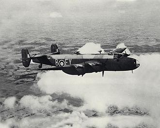 No. 78 Squadron RAF - 78 Sqn Halifax B Mark II Series 1A based at RAF Breighton