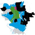 Halle (Saale) Europawahl 2019 stärkste Partei nach Stadtteil.png