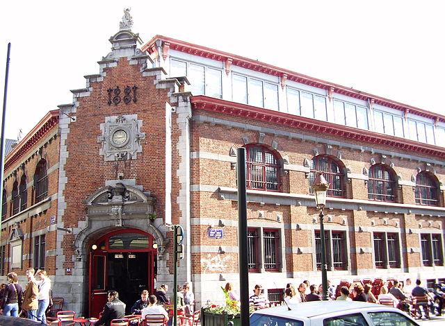 Saint-Géry-Markthalle