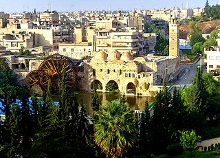 Hama City in Syria