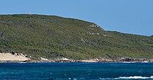 Hamelin Island-Light-Hamelin light on the hill