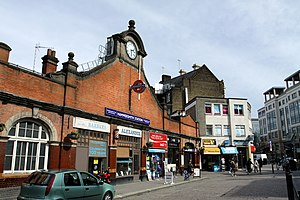 Hammersmith tube station (Hammersmith & City and Circle lines) - Station entrance