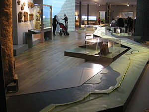 Great North Museum: Hancock - Hadrian's Wall display area.