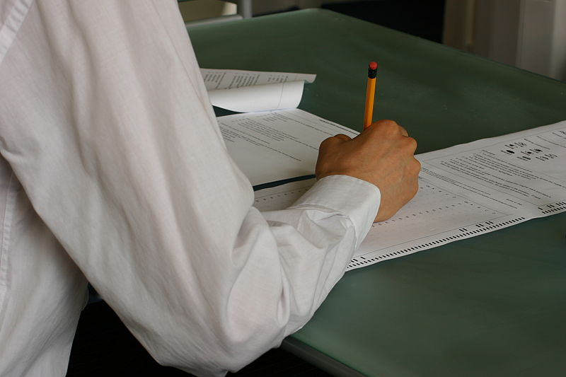 File:Hand-writing-exam-classroom.jpg