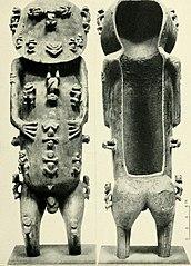 Statue of A'a from Rurutu