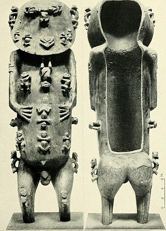 Statue of A'a from Rurutu - The A'a Idol from Rurutu in the British Museum