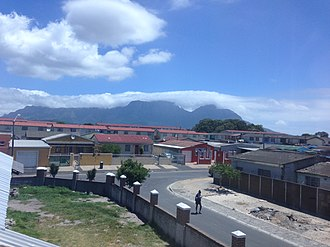 Hanover Park, Cape Town - A view of Hanover Park