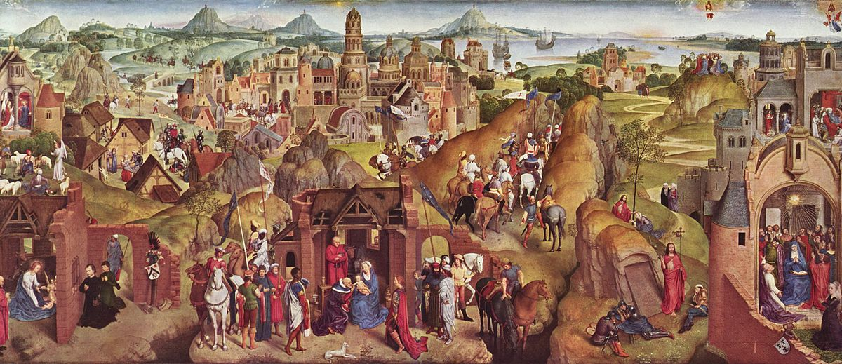 Image result for Advent And Triumph Of Christ, by Hans Memling, 1480