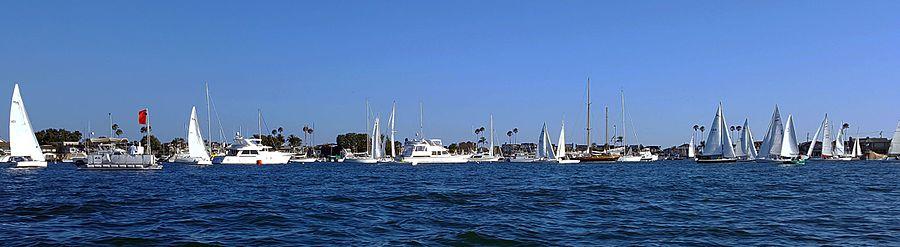 Harbor 20 Racing in Newport Beach Aug 11 2016